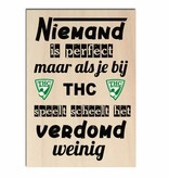 Bedrukt hout - TCV of andere club