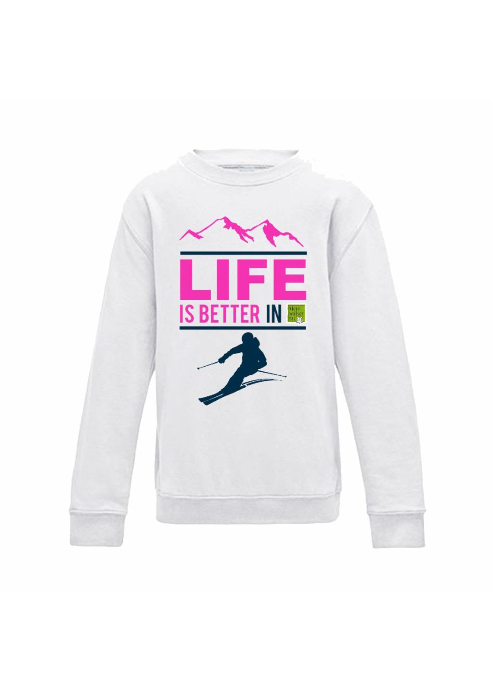 Ski sweater life is better
