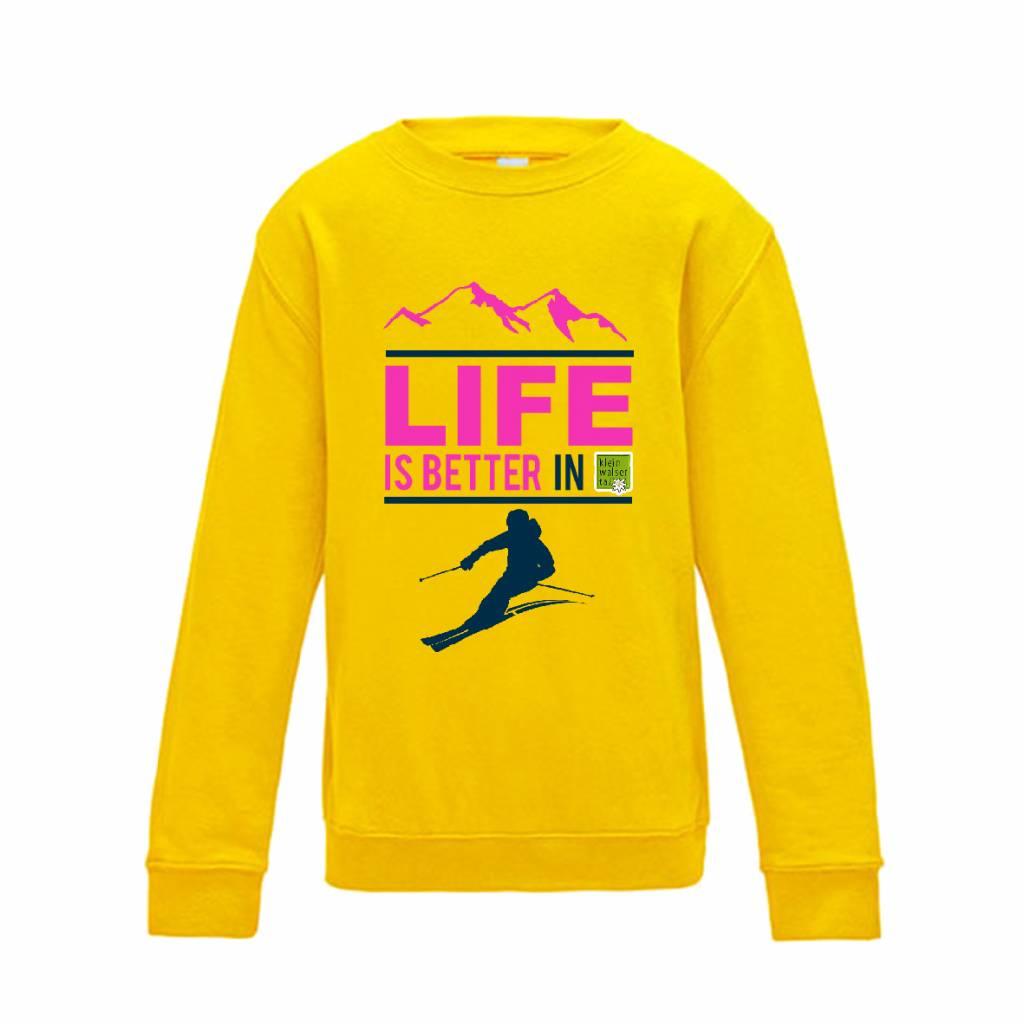Ski sweater life is better -  jouw skigebied