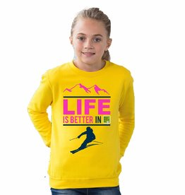 Ski sweater life is better - jouw skigebied