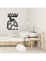 Muursticker life is a game
