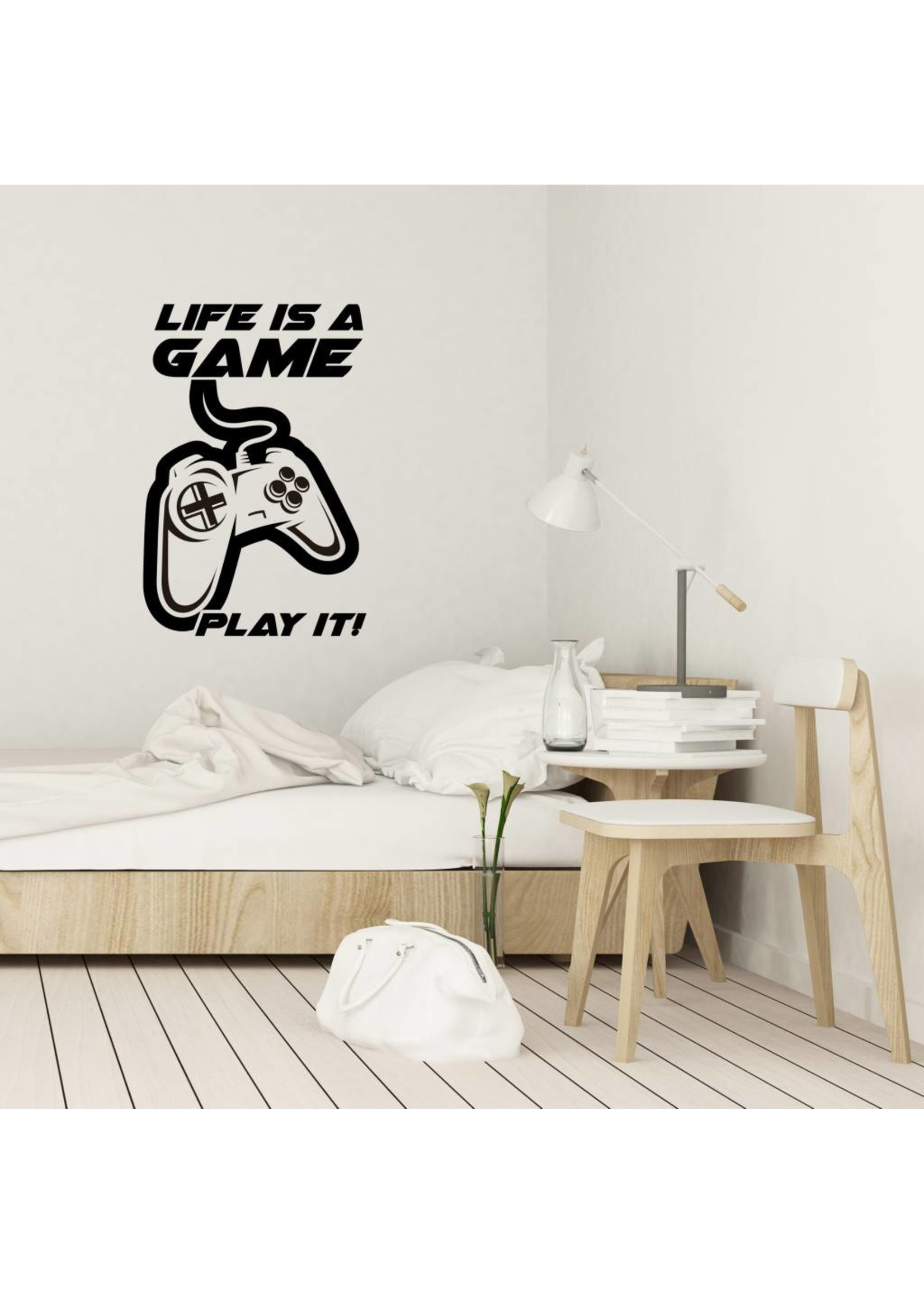 Muursticker life is a game play it
