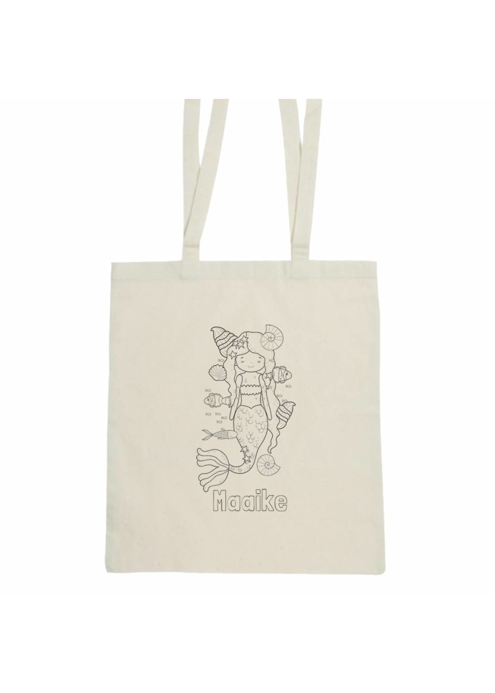 KleuKleur je eigen t-shirt met naam - zeemeerminr je eigen t-shirt met naam - aap en giraffe - Copy