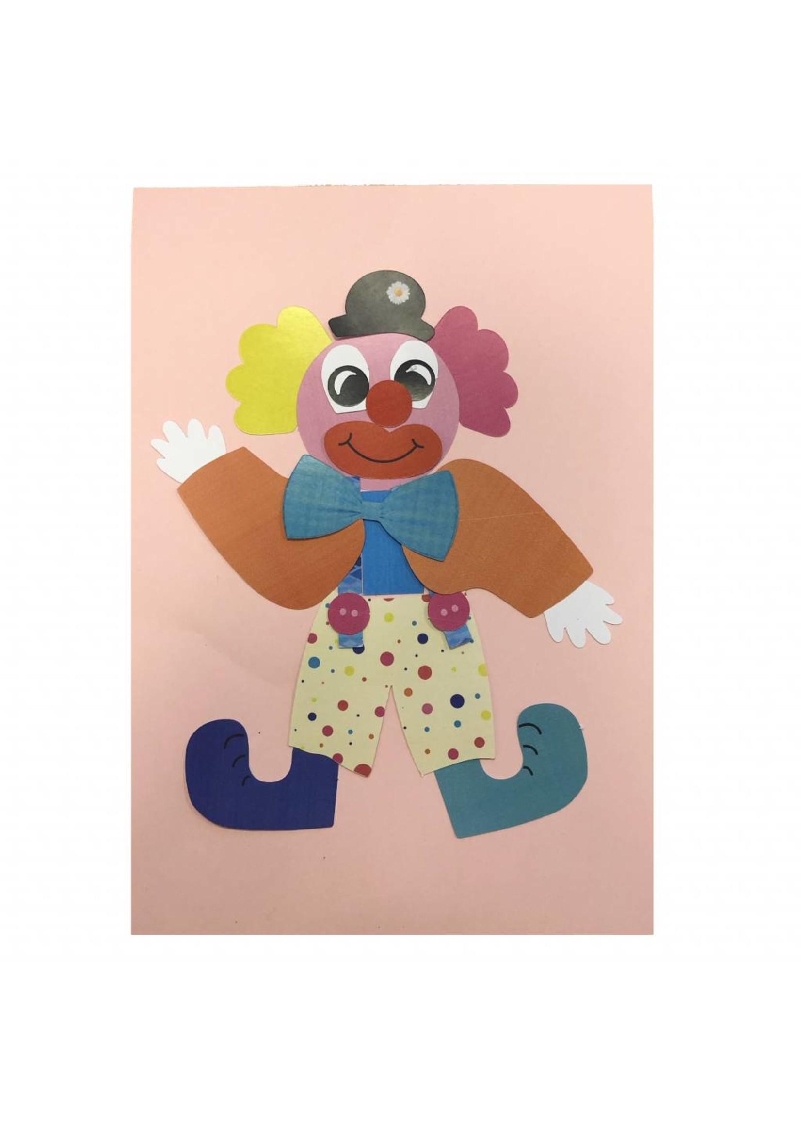 Knutselpakket clown