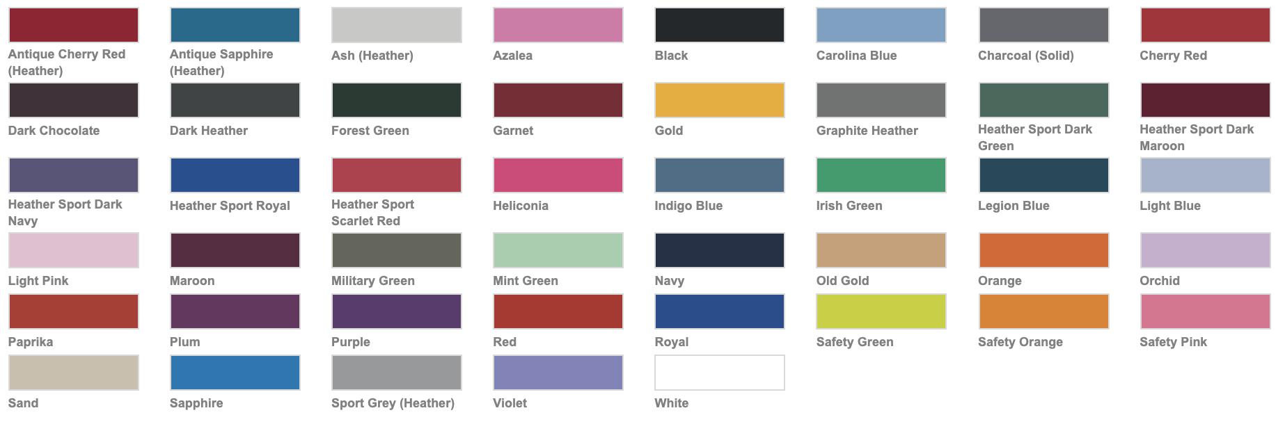 Kleuren volwassenen