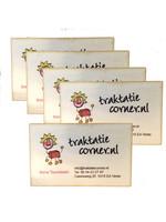 10 Houten visitekaartjes - full color bedrukt