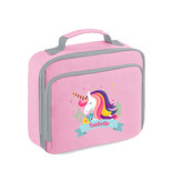 Lunch koeltasje unicorn met naam