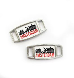 Marathon Amsterdam - shoetags