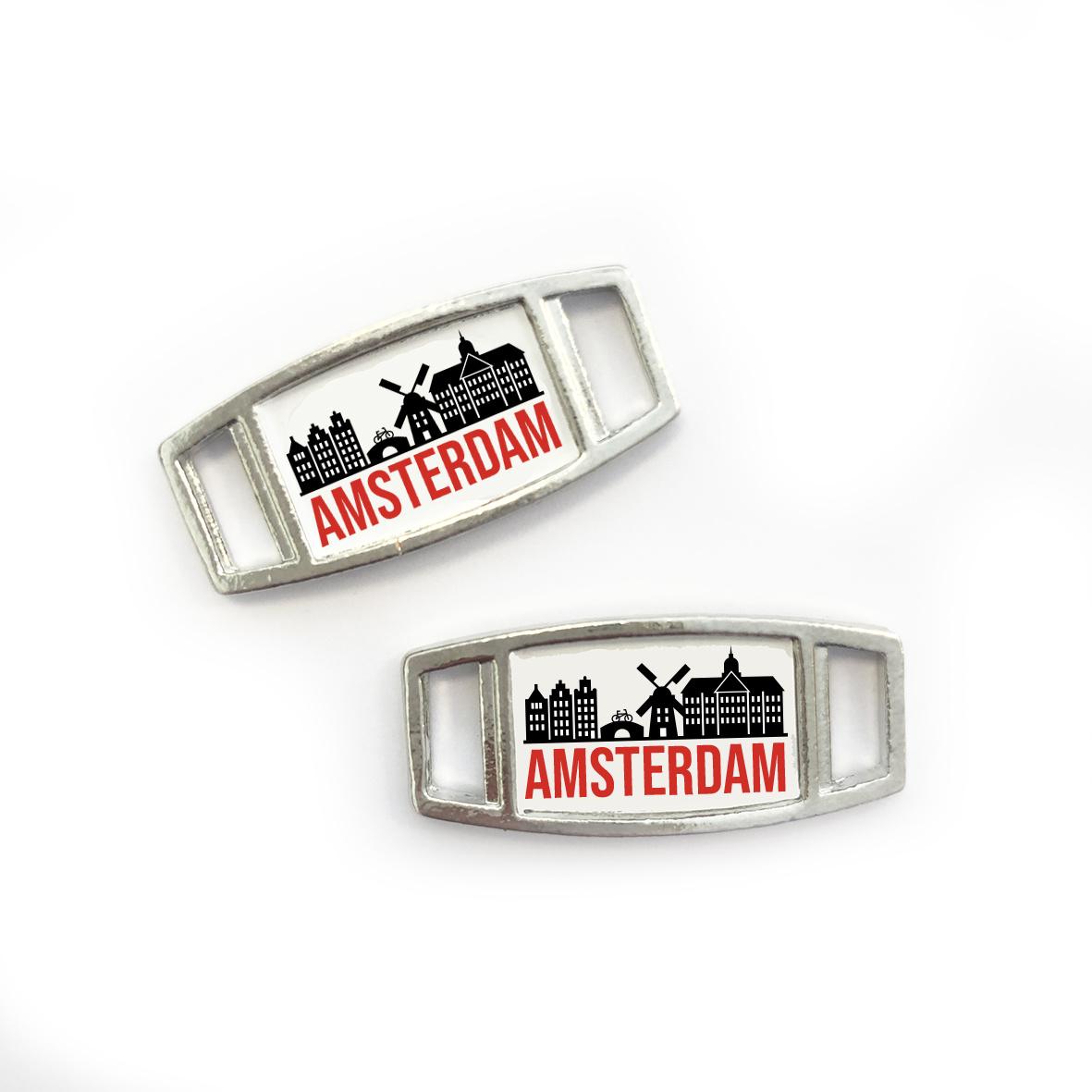 Marathon Amsterdam - shoe tags