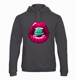 Hoodie candy lips
