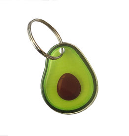 Sleutelhanger avocado
