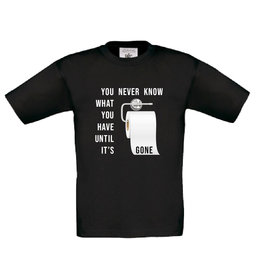 You never know toiletpaper t-shirt