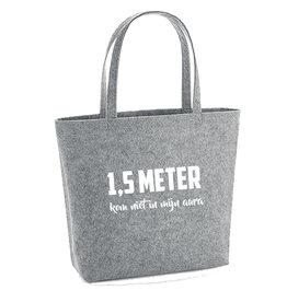 Vilten tas - 1,5 meter, kom niet in mijn aura