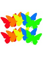Vlinders papier  (10 stuks)