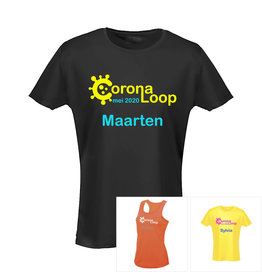 Virtuele CoronaLoop shirt
