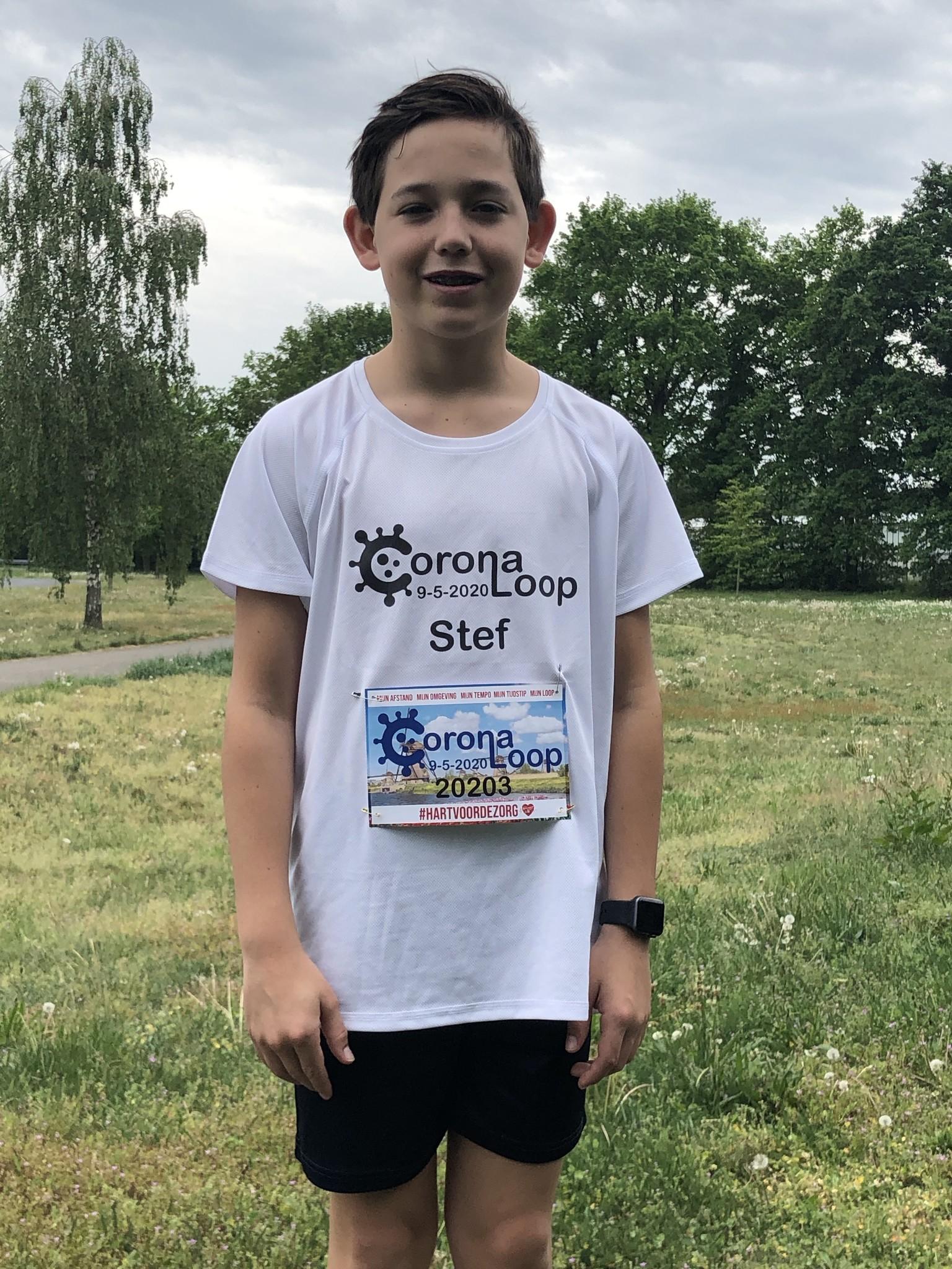 Virtuele CoronaLoop shirt