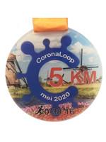 Virtuele CoronaLoop medaille