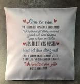 Knuffel kussen voor opa, oma of iemand anders die je mist