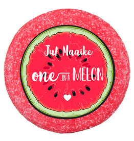 One in a melon shampoo bar met naam