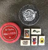 12 Handgemaakte mini zeepjes met je logo