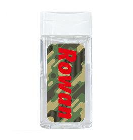 Handgel camouflage met naam