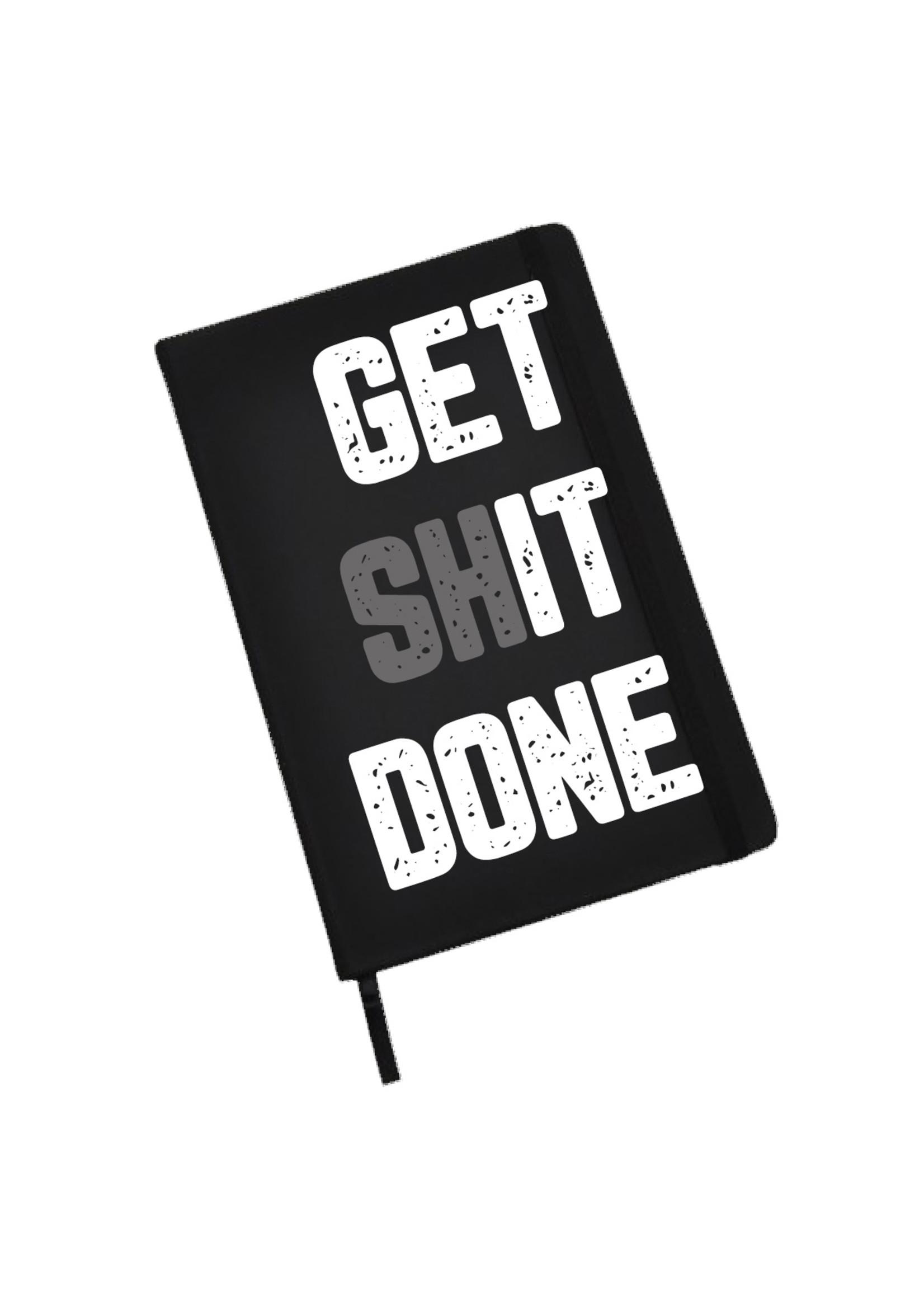 Notitieboekje (groot) get (sh)it done