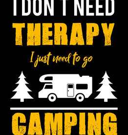 Sticker therapy camper