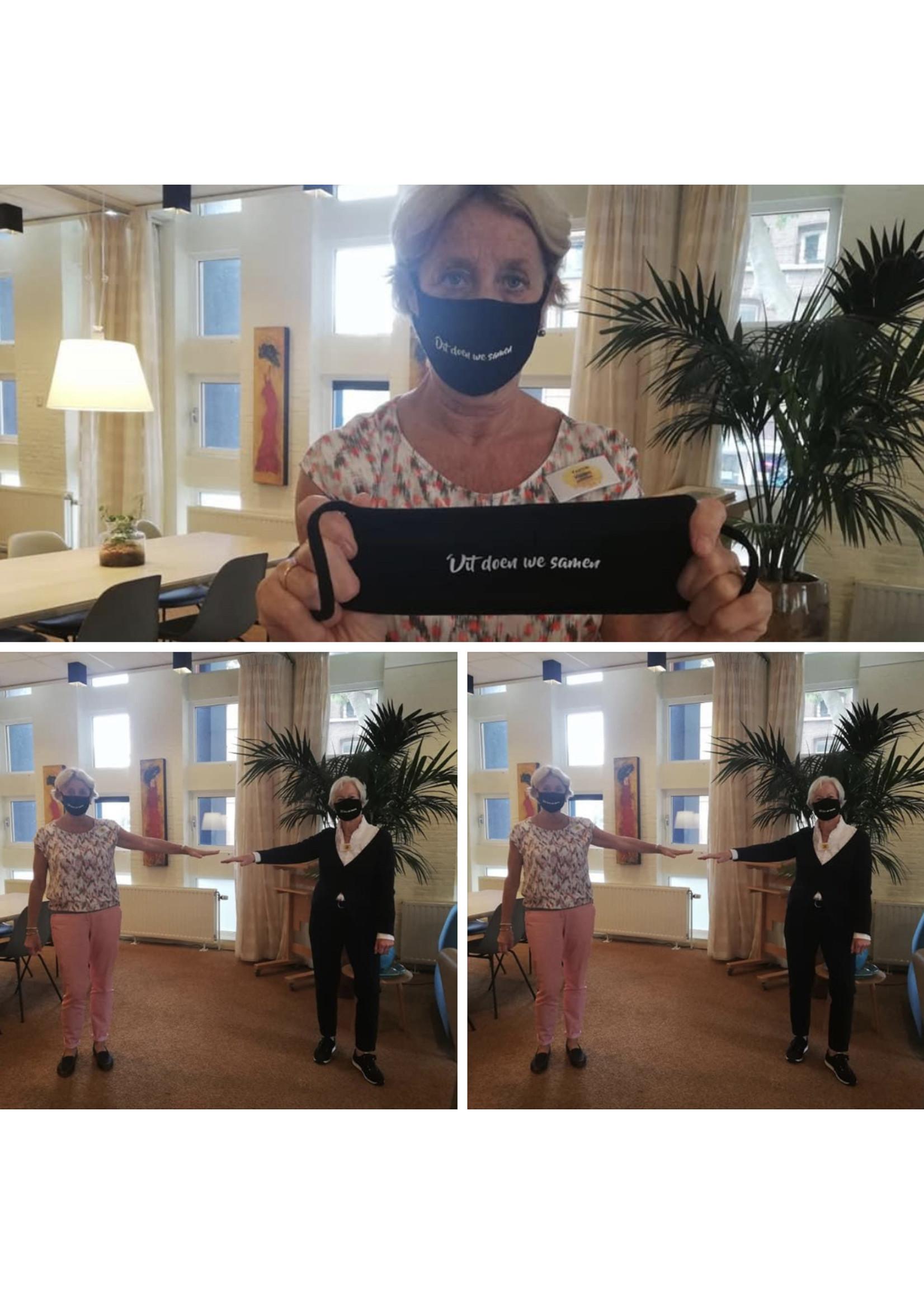 Mondkapje Samen - Toon Hermans Huis Venlo