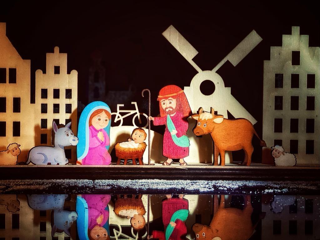 Skyline met als optie Kerstgroep
