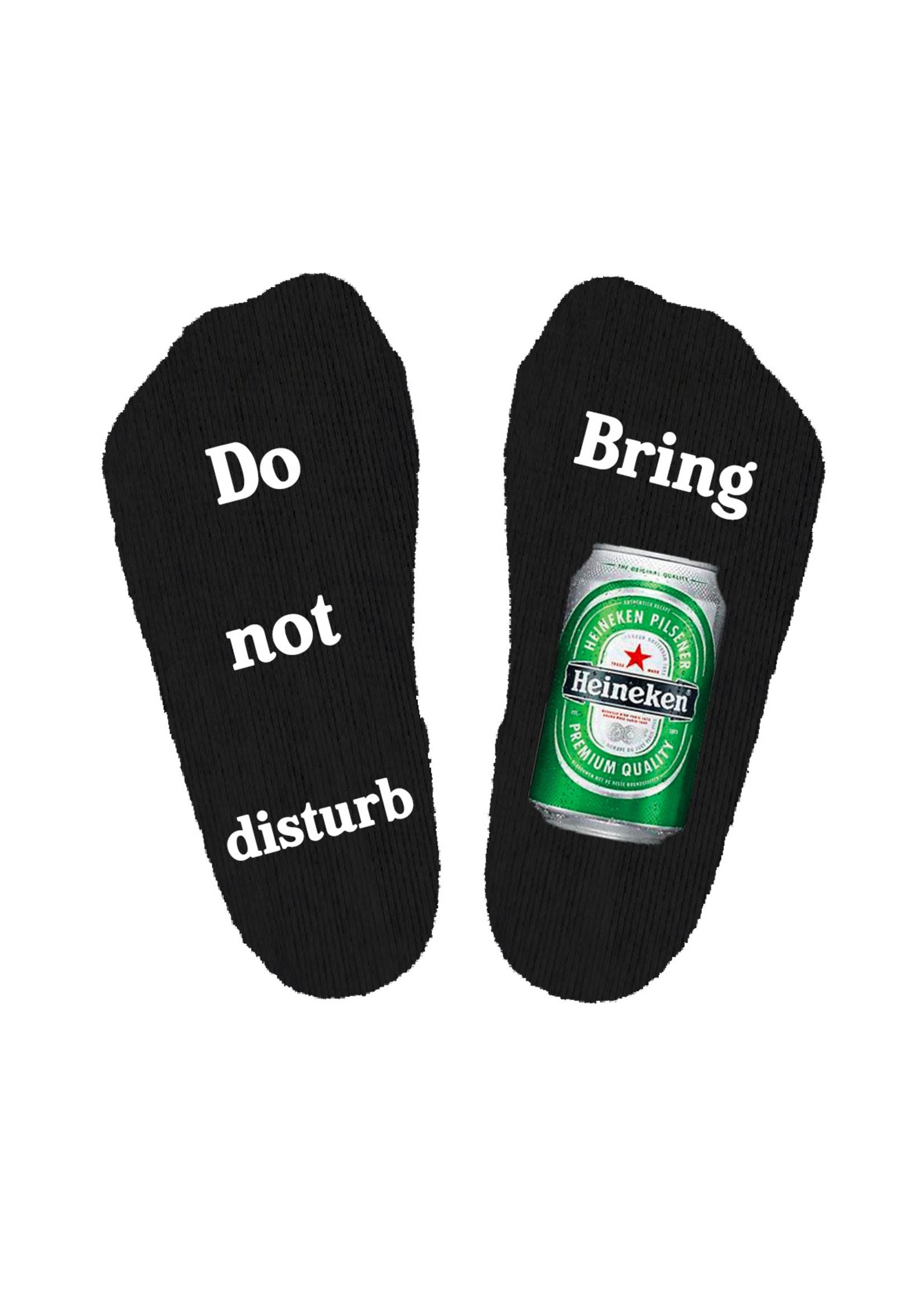 Do not disturb Heineken sokken