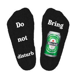 Do not disturb Heineken sokken
