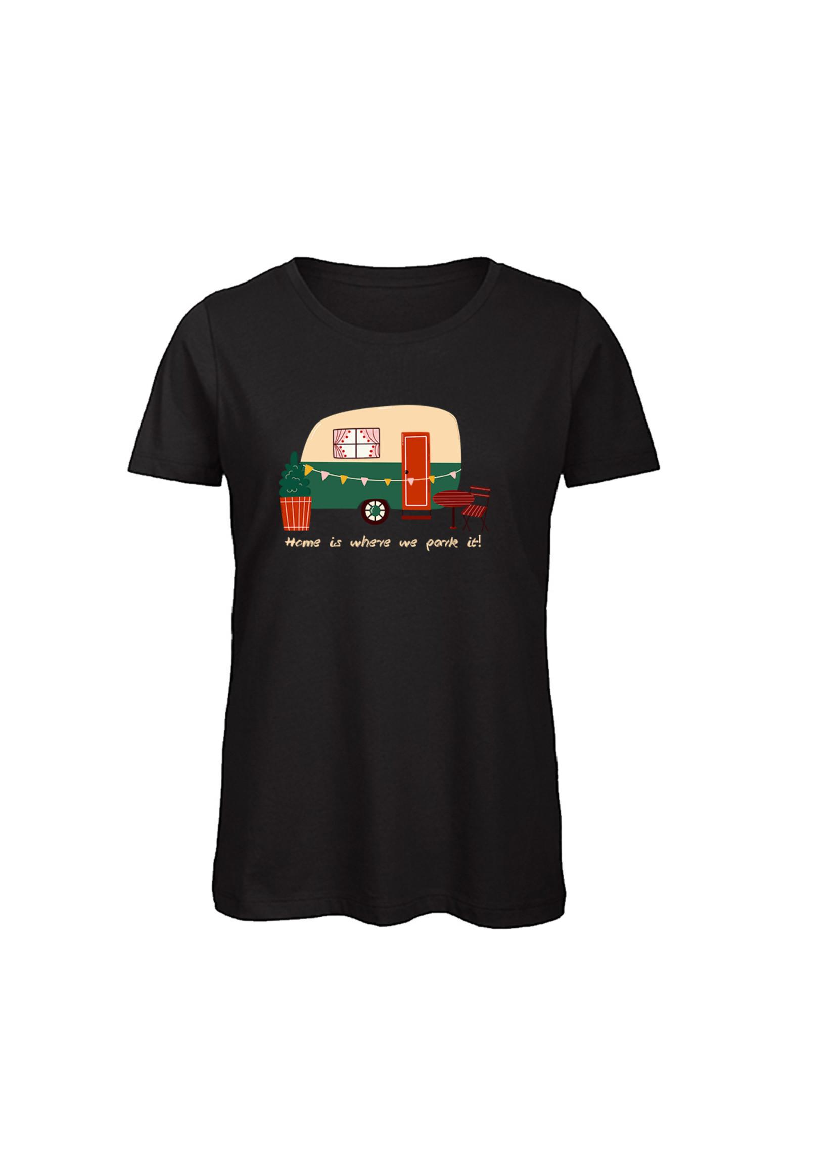 T-shirt caravan home is where we park it