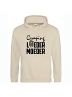 Camping loeder moeder hoodie