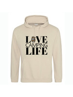 Love camping life hoodie