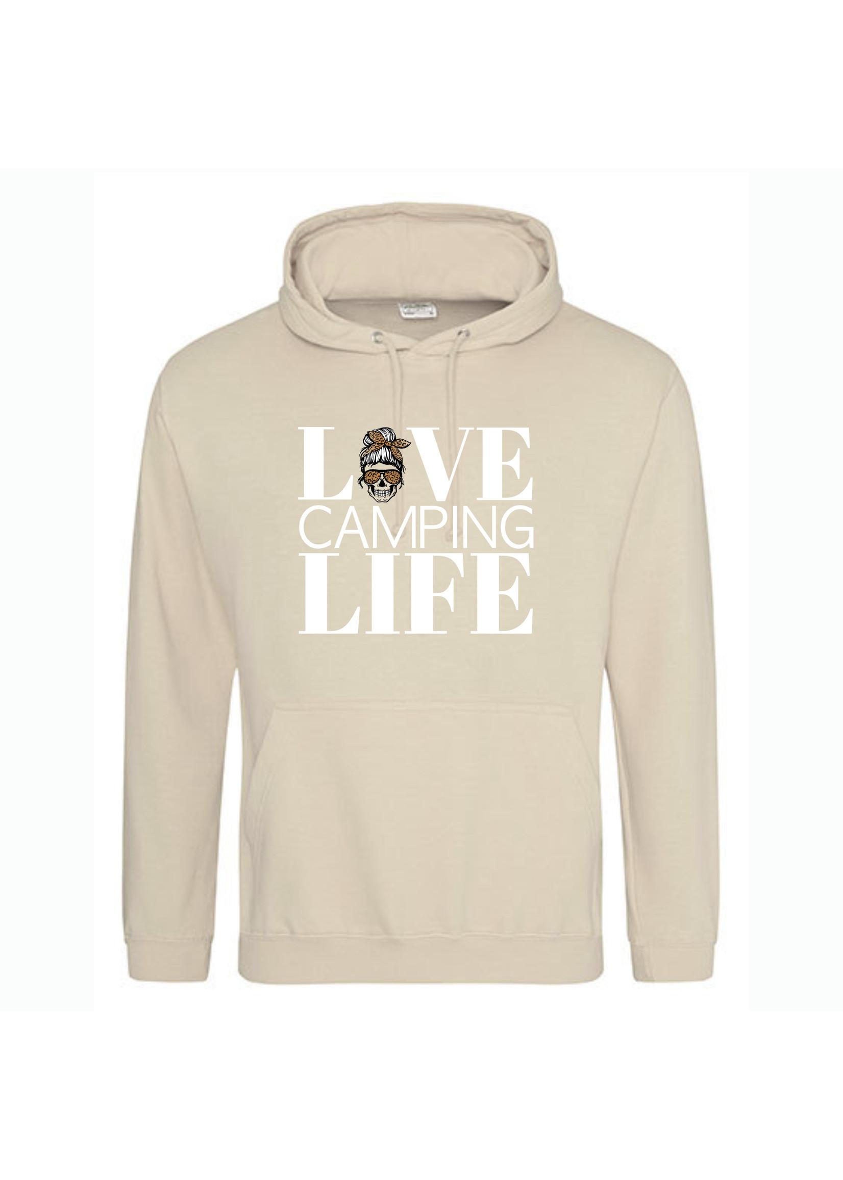 Love camping life mom hoodie