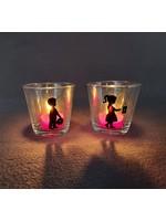 Waxinelichtjes houder Sint Maarten