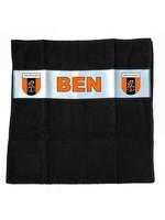 Handdoek met naam en het logo van je club
