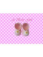 Bellenblaas Babyslofjes roze