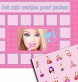 Beloningskaart Barbie