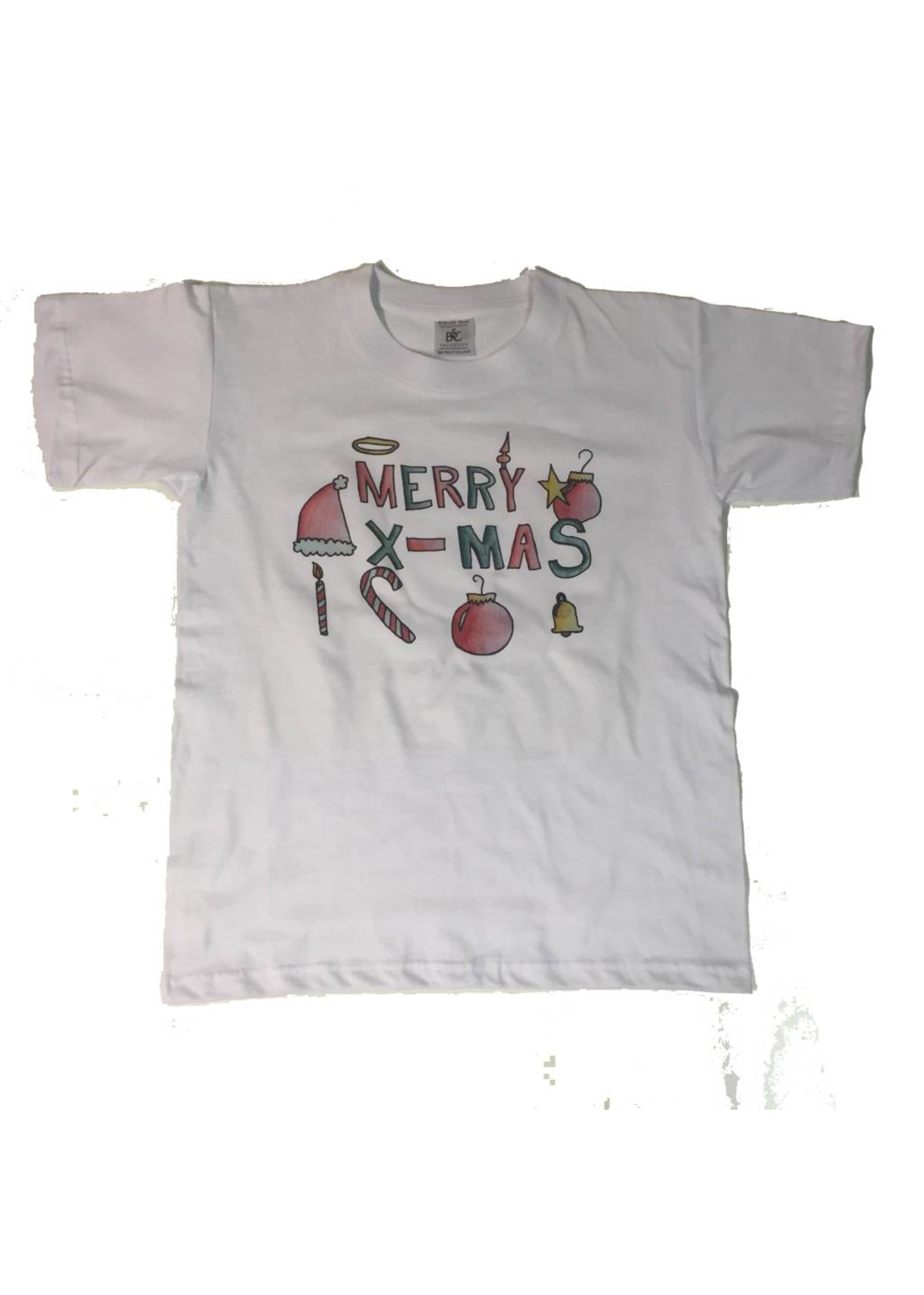 Je eigen kerst t-shirt