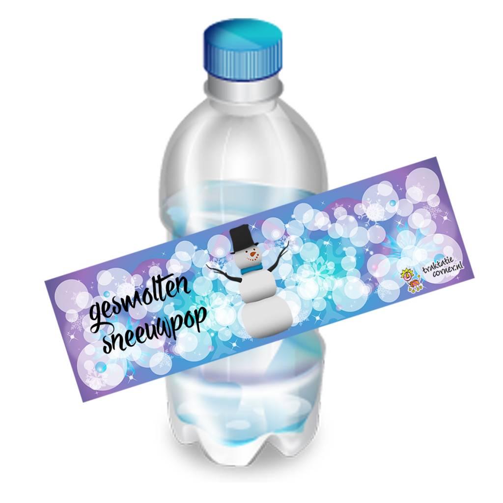 Printable fleswikkel gesmolten sneeuwpop