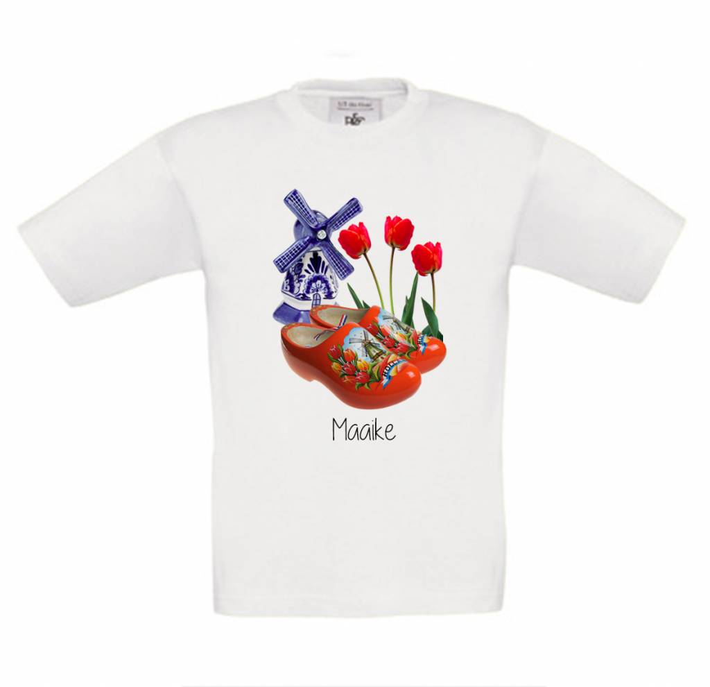 T-shirt Holland met naam