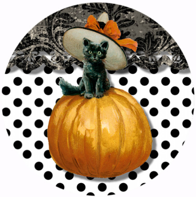 "Button ""Halloween 1"""