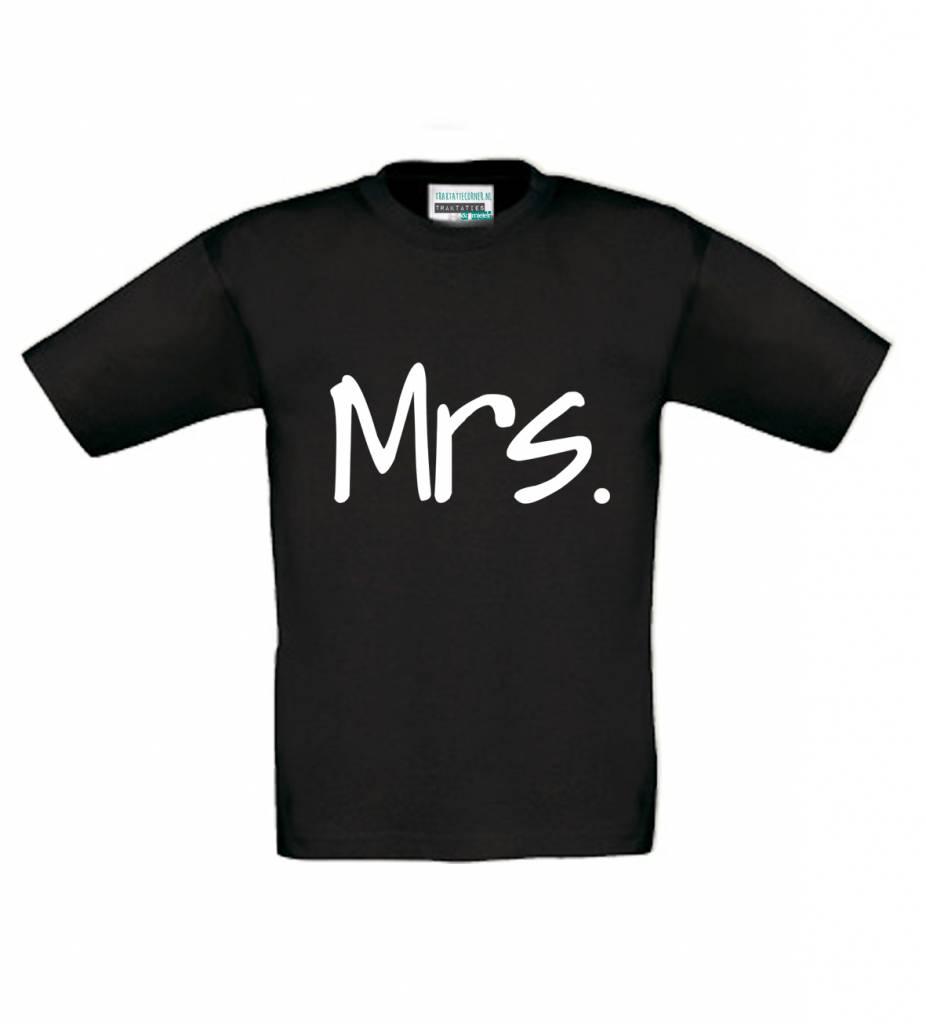 T-shirt Mrs.