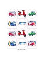 Stickers Volkswagen - 12 set