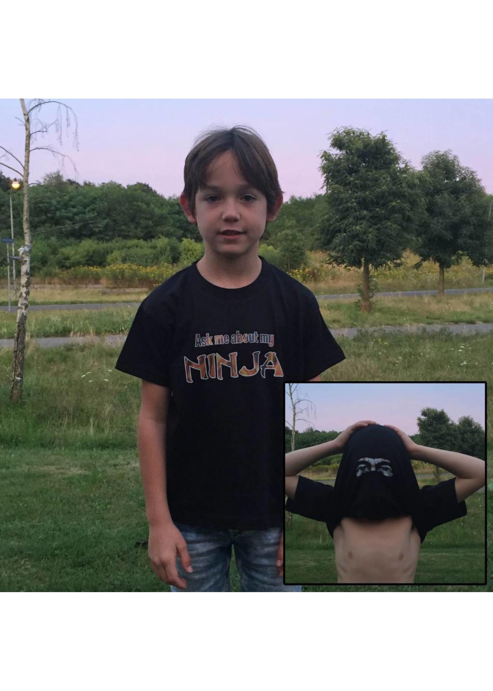 T-shirt ask me about my ninja