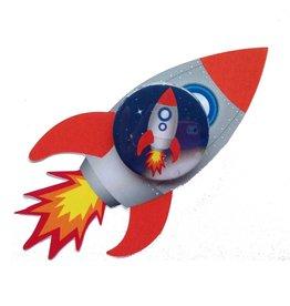 Raket traktatie met button