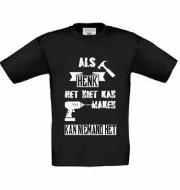 T-shirt Als ... het niet kan maken
