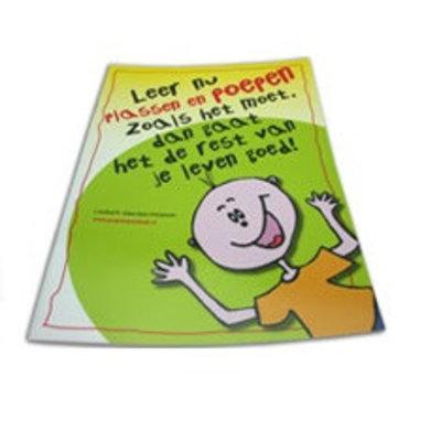 Urifoon Werkboek Leer plassen en poepen