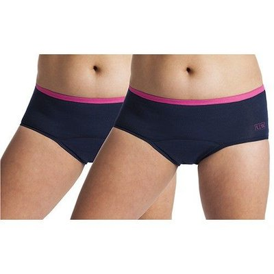 UnderWunder Women Brief dark blue / fuchsia pink (price per 2)